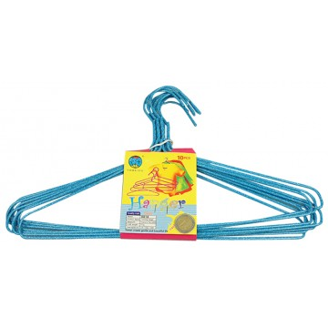 PLASTIC COATED WIRE HANGER