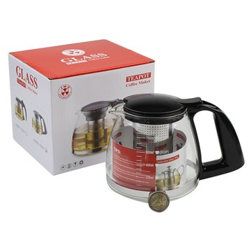 0.75L GlassTeapot Coffee Maker