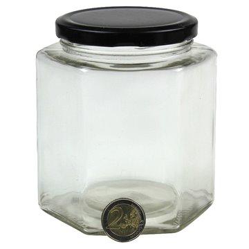 Glass Jar & Twist-Off Lid