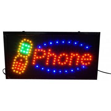 LED PHONE SIGN