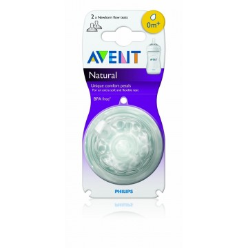 Philips Avent Natural Teat - NB, S, M, F Flow
