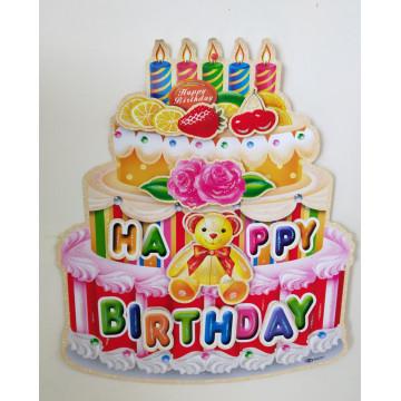 Happy Birthday  Banner 45*50cm