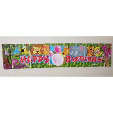 Party Banner 33*150cm 10/Pk