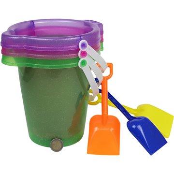 "7"" Sand Bucket With Shovel"