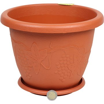 Flower Pot �25X19cm
