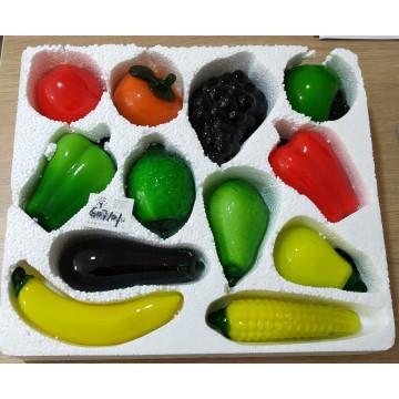 Glass Fruit 12/Pk