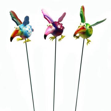 5  Garden Bird Stakes (48)