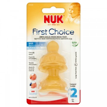 First Choice Latex Teat Size 2 (2pk)