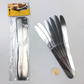 6PC ST/STEEL KNIFE