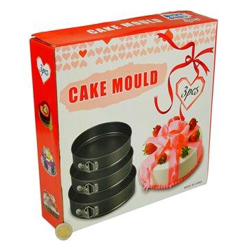 3pcs 24-28cm Cake Mould