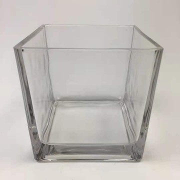 SQUARE GLASS TANK 6*6CM