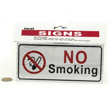 NO SMOKING SIGN(12)