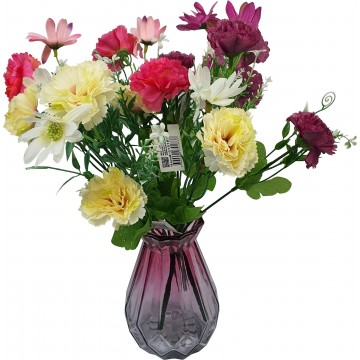5 Head Flower Assorted 26cm...