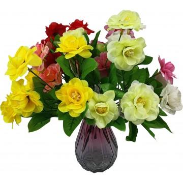 5 Head Flower Assorted 28cm...