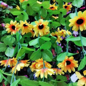 Sunflower Garland (10) 160cm
