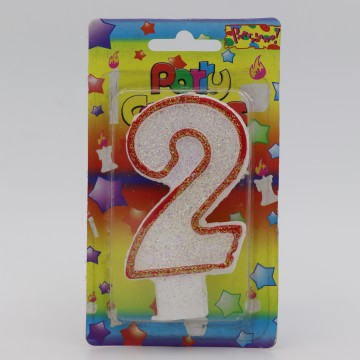 Number Birthday Candle