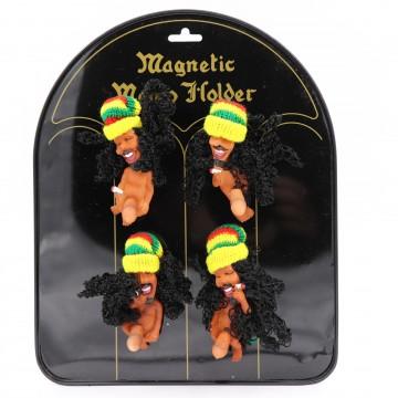 Rasta Jamaican Fridge Magnet