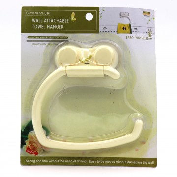 Towel Hanger With Suction Cup