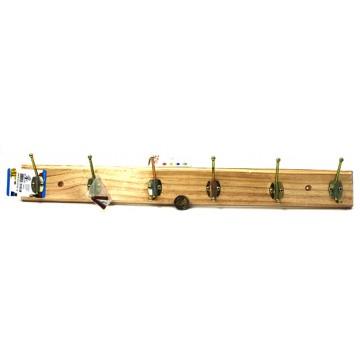 6Hooks Wooden Hanger