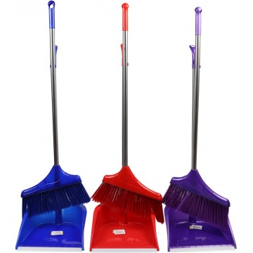 Long Dust Pan With Brush (15)