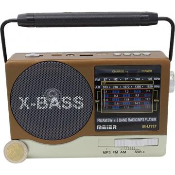 8 BAND RADIO WITH USB/TF PLAYER