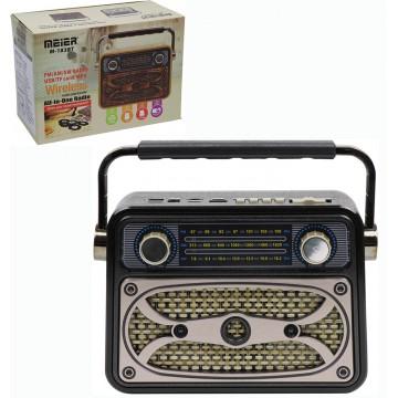 FM/AM/SW 3 Band Radio With...