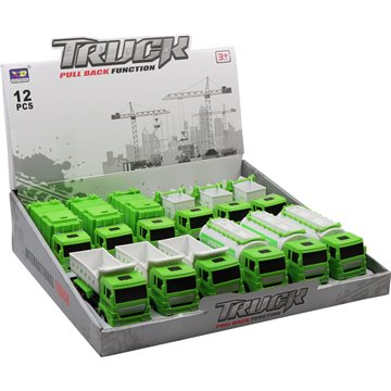 Pull Back Function Garbage Truck (12)