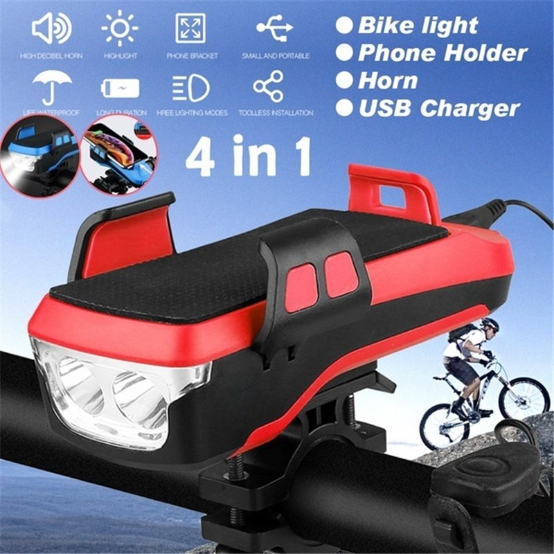 4IN1 Bicycle Lights