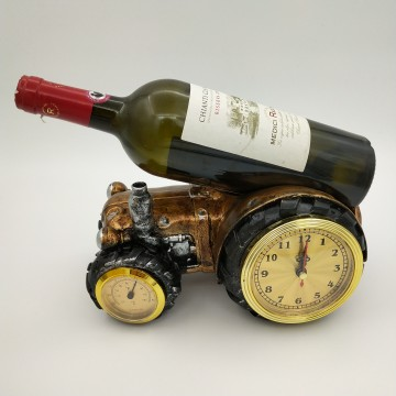 Resin Tractor with Clock