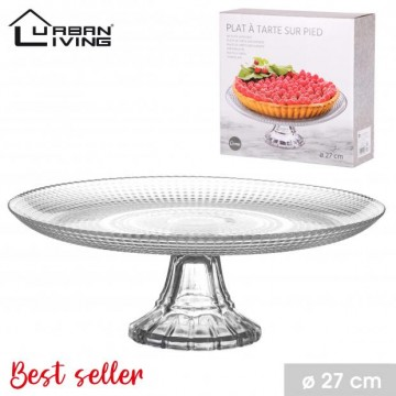 DESERT PLATE STAND IN GLASS...