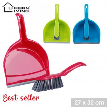 DUSTPAN AND BRUSH + RUBBER...