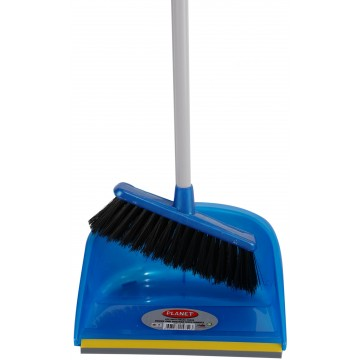 PLANET DUSTPAN WITH BRUSH...