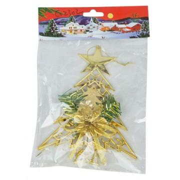 Xmas Decoration-Tree 15*19CM