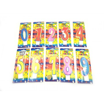NUMBER BIRTHDAY CANDLES