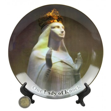OUR LADY OF KNOCK PLATE&STAND